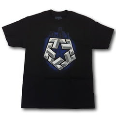 Tribal T-Star City Mens Tee Black
