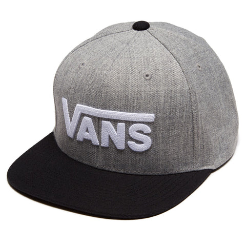 Vans Drop V Snapback Heather Grey/Black