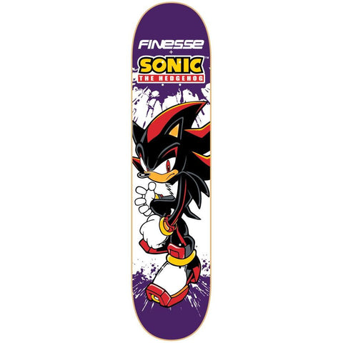 Finesse Sonic Series Deck Shadow Hedgehog 8.25""