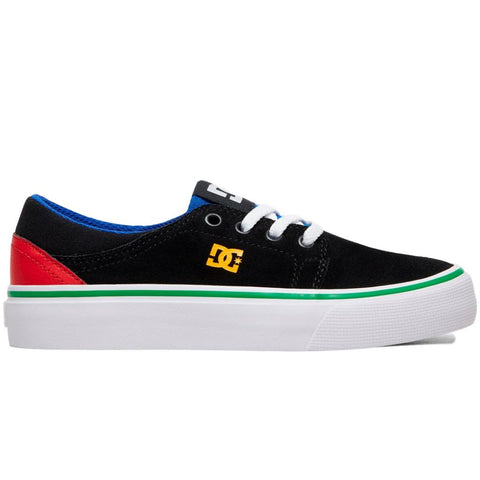 DC Trase Youth Shoe Black/Multi