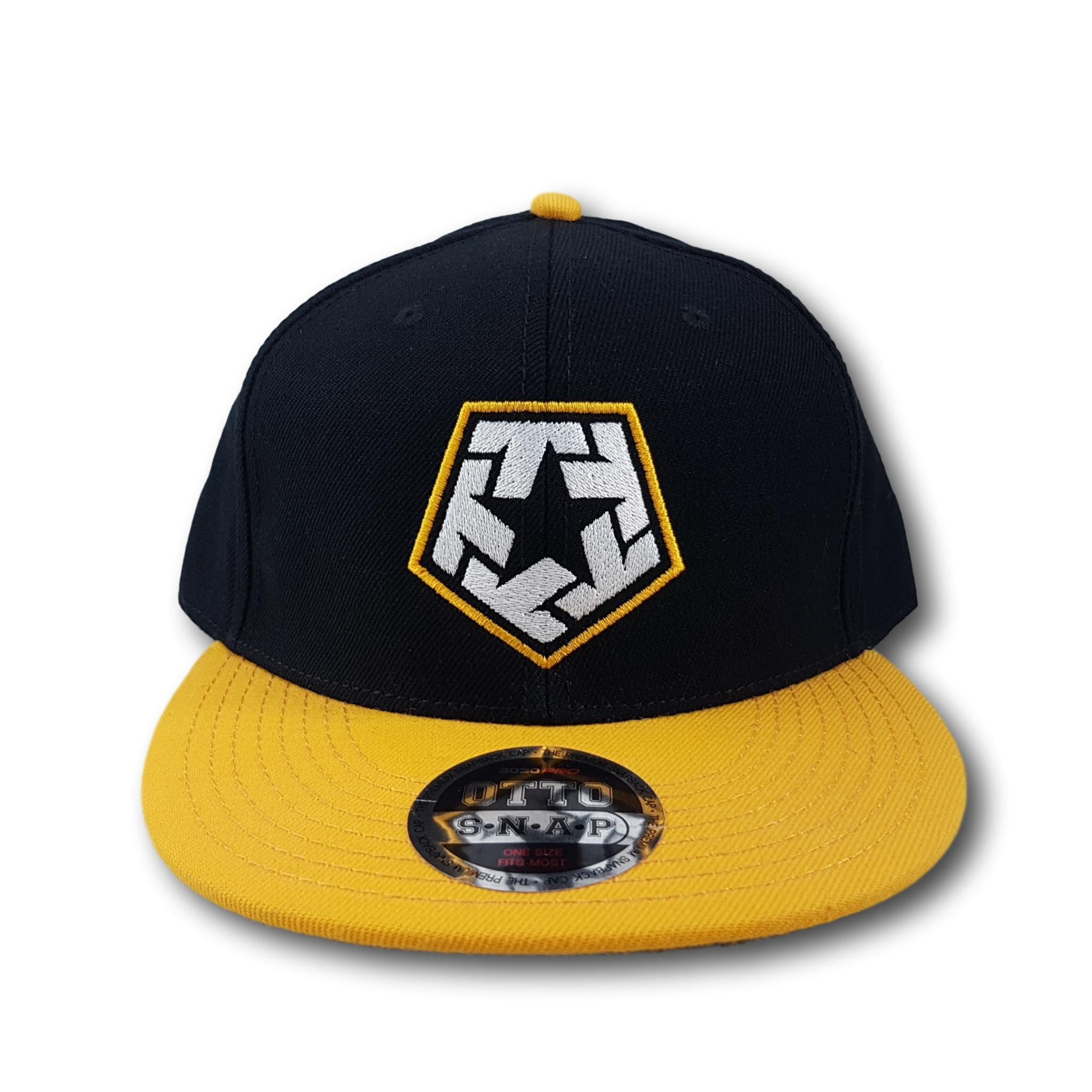 Tribal Gear T-Star Snapback Black/Yellow
