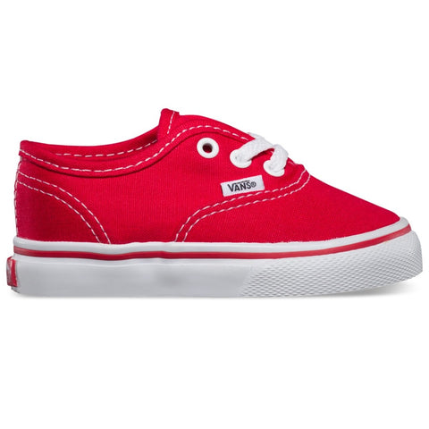 Vans Authentic Red Toddler