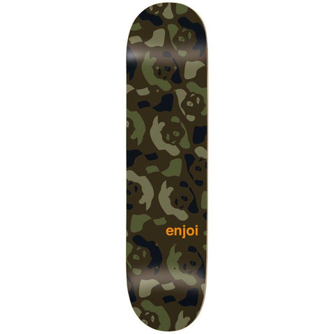 Enjoi Repeater Deck Green Camo 8.375""