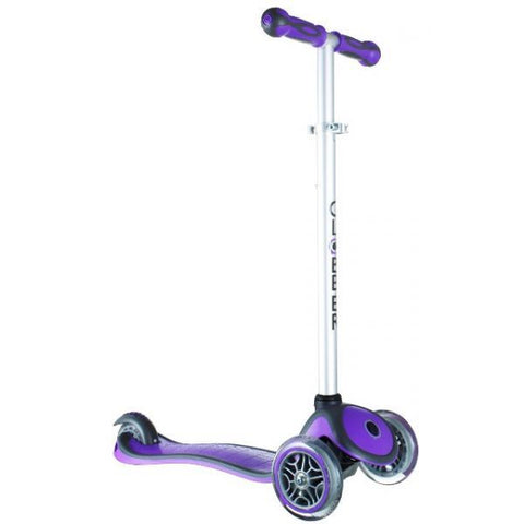 Globber Primo Plus 3 Wheel Scooter Violet