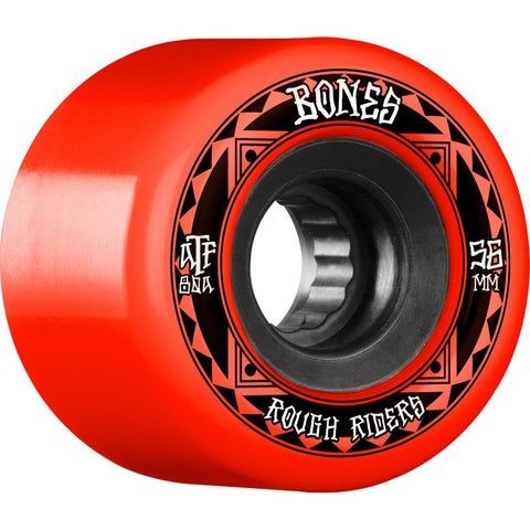 Bones ATF Rough Riders Runners 56mm Red