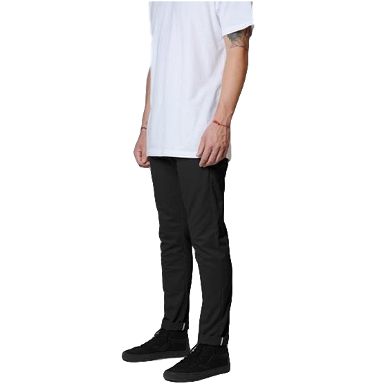 Dickies 801 Skinny Straight Work Pants Black