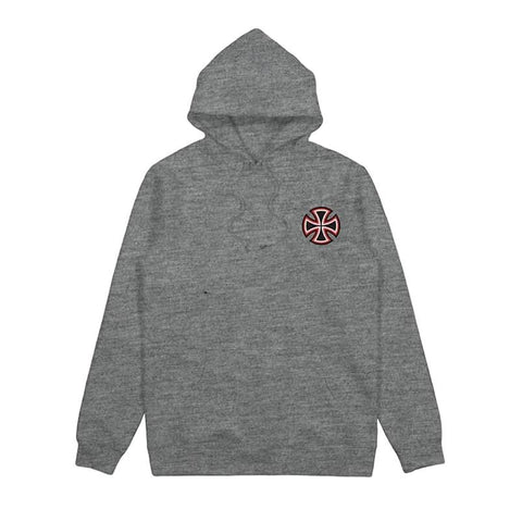 Independent Pennant Pop Hood Grey Heather