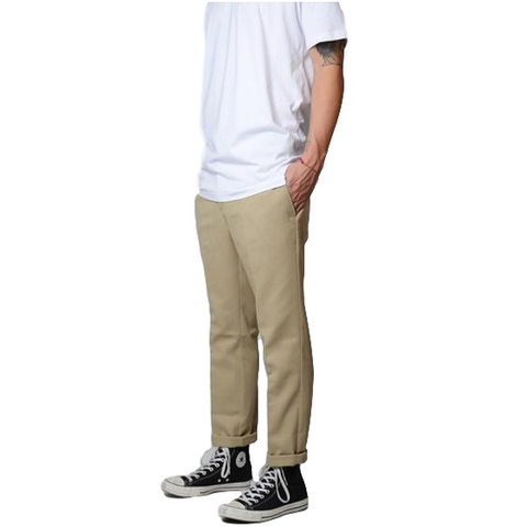Dickies 872 Slim Fit Work Pants Khaki
