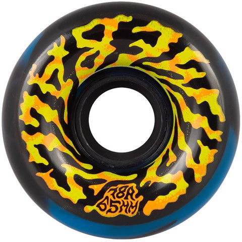 Santa Cruz Slimeball Black / Blue Cruiser Wheels 65mm / 78a