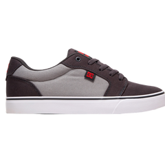 DC Anvil TX Youth Shoe Grey/Grey/Red