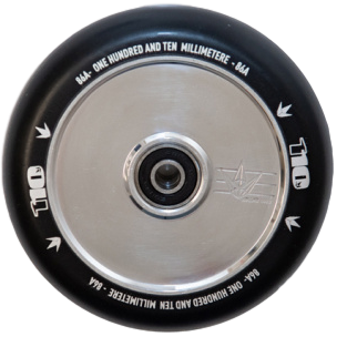 Envy Hollow Core Wheel 110mm Silver
