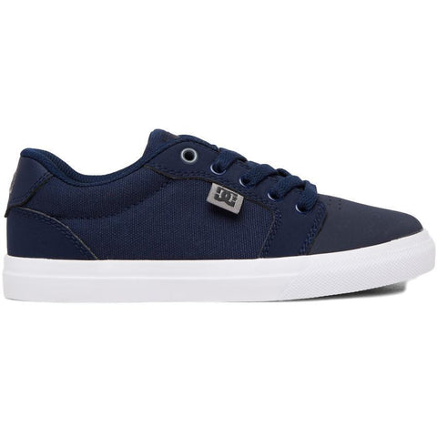 DC Anvil Youth Shoes Navy / Grey