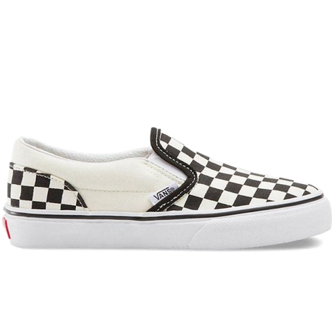 Vans Classic Slip-On Kids (checkerboard) Black/White