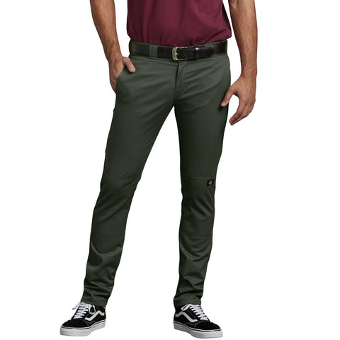 Dickies 811 Skinny Straight Work Pants Army Green