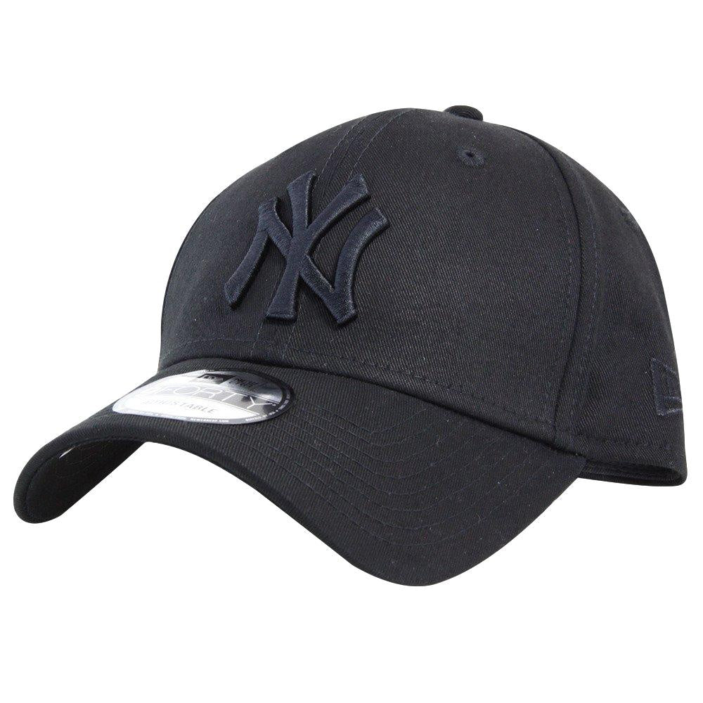 New Era 9Forty Adjustable Cap New York Yankees Black / Black