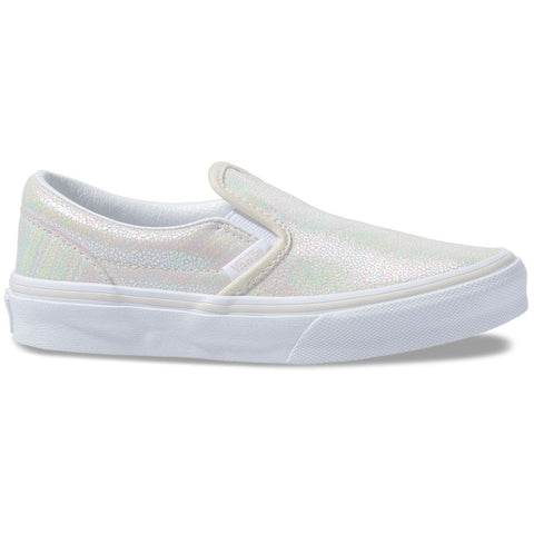 Vans Classic Slip-On (Metallic Oil Slick) True Youth Shoe