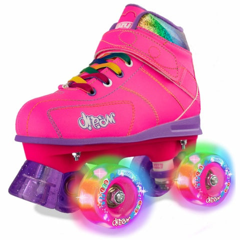 Crazy Skates Dream Pink Rollerskates