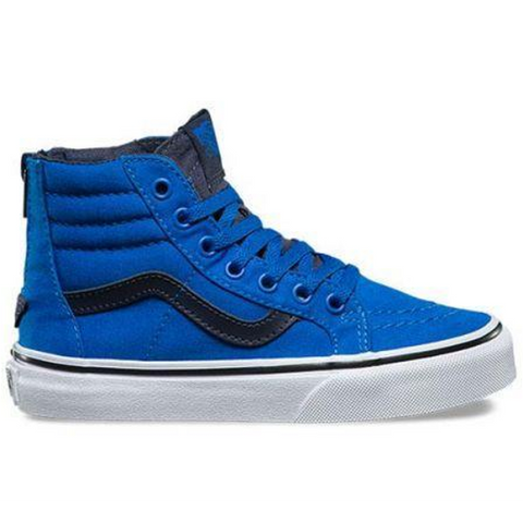 Vans Sk8-Hi Zip Youth (Canvas) Imperial Blue