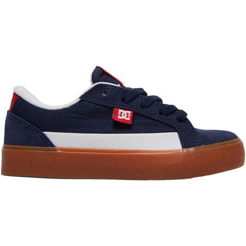 DC Lynnfield Navy/Red Youth Shoe