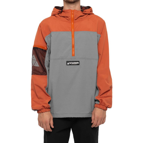 Huf Nystrom Packable Jacket Rust