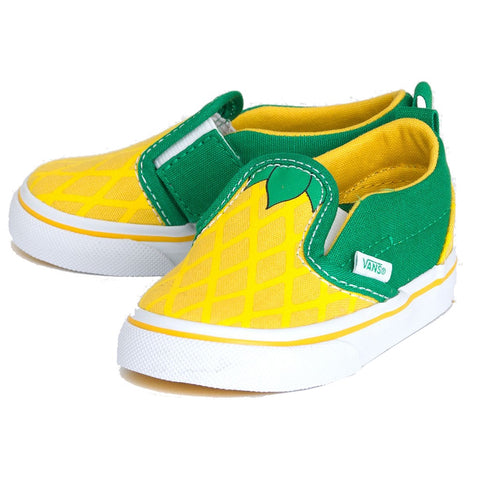Vans Slip-On V (Pineapple) Vibrant Yellow