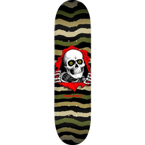 Powell Peralta Ripper Deck Olive 8.0""