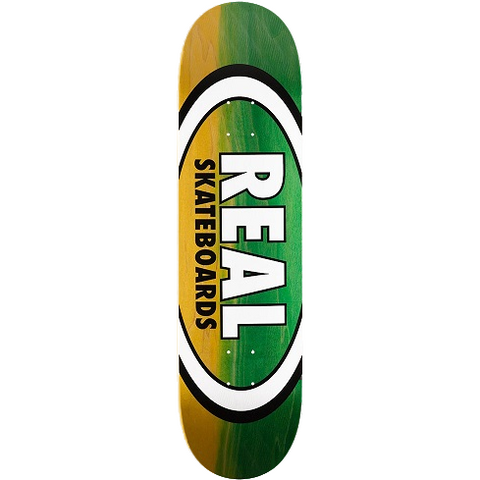 Real Parallel Fade Oval Deck 8.38