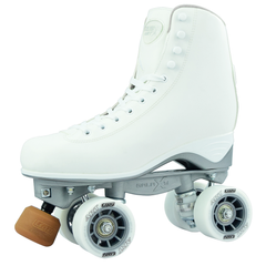 Crazy Skates Celebrity Art Rollerskates White