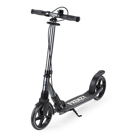 Frenzy 205mm Dual Brake Titanium Scooter