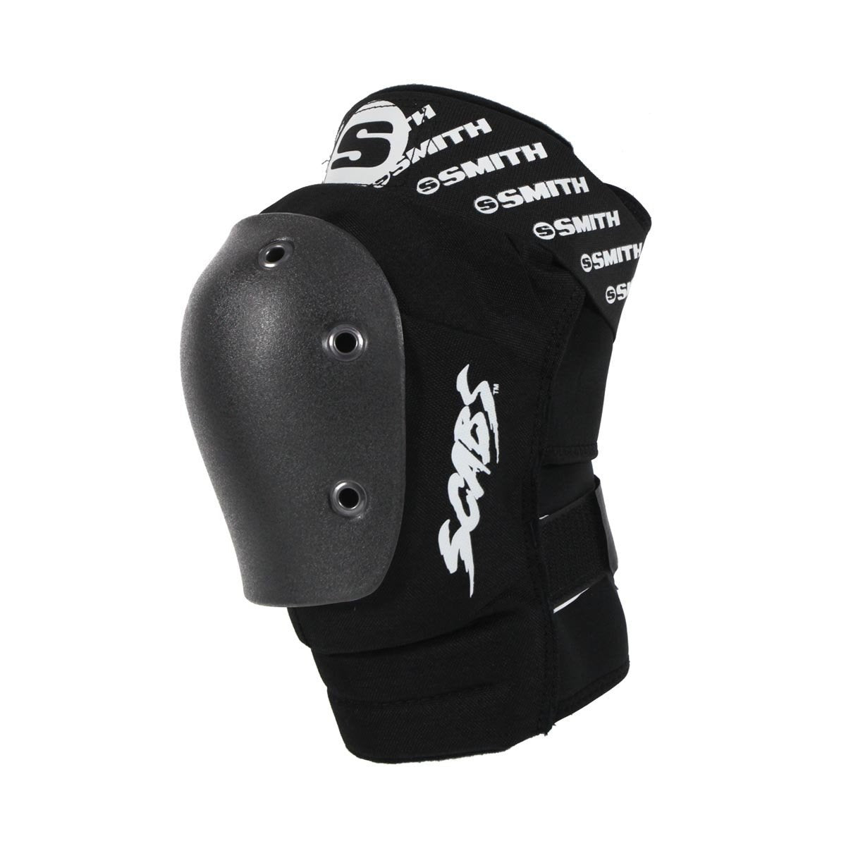 Smith Scabs Elite Knee Pad Black w Black Caps