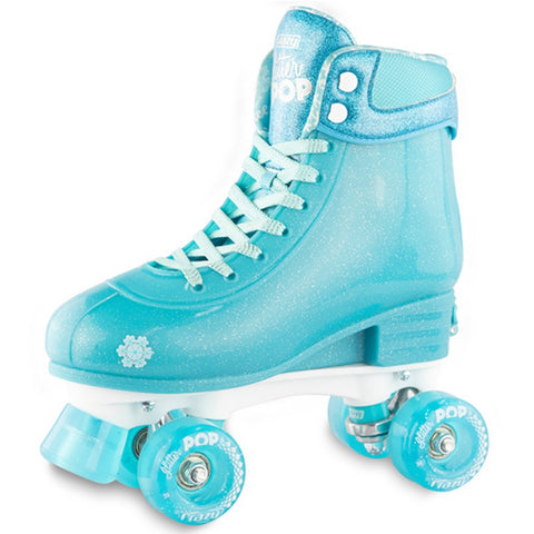 Crazy Skate Glitter Pop Adjustable Rollerskates Teal