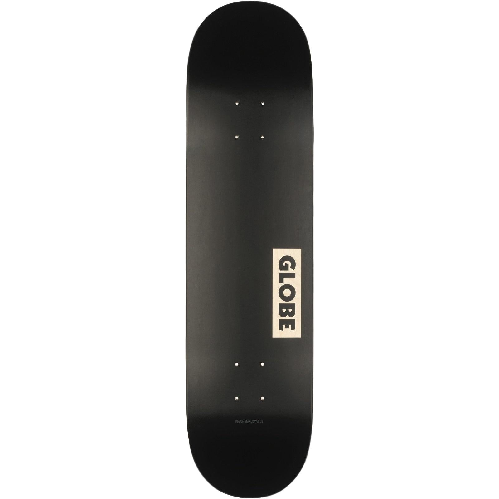 Globe Goodstock Skateboard Black 8.125""