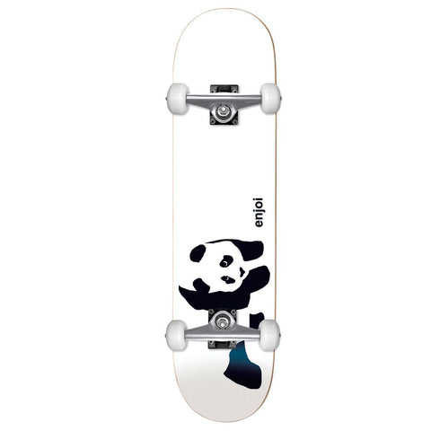 Enjoi Panda Soft Top Complete White 6.75