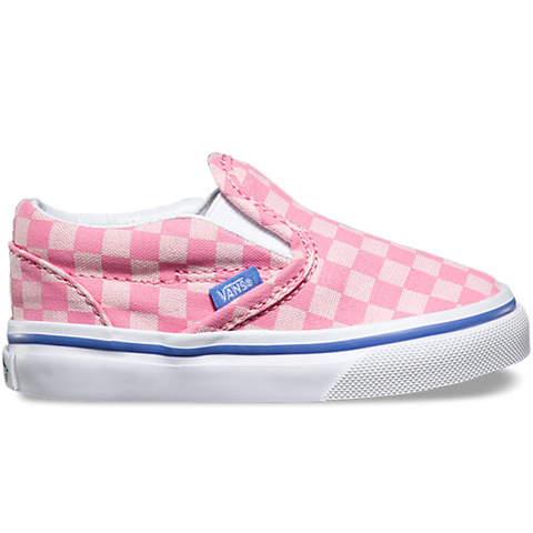 Vans Classic Slip-On (Tonal Checker) Wild Rose