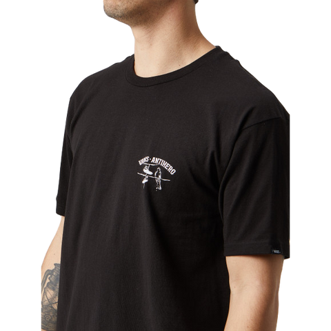 Vans x Anti Hero On The Wire Tee Black