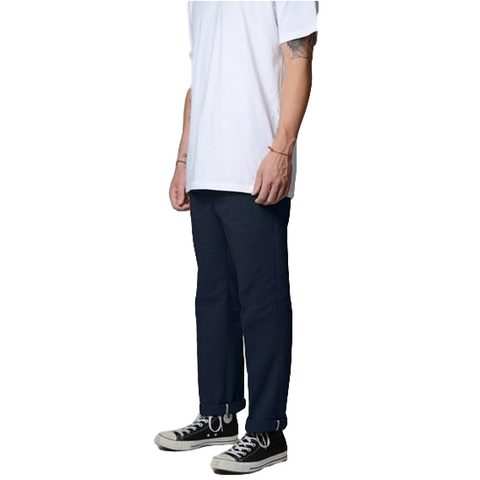 Dickies 873 Slim Straight Work Pants Navy