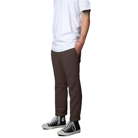Dickies 872 Slim Fit Work Pants Chocolate Brown