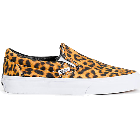 Vans Classic Youth Slip-On (Digi Leopard) Blk/TrWht