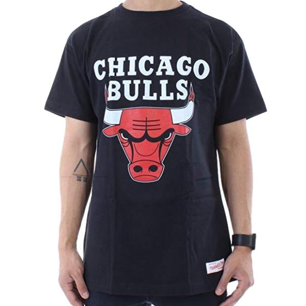 Mitchell & Ness Chicago Bulls Tee Black