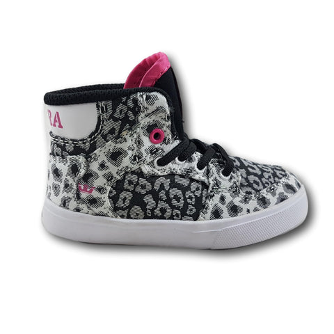 Supra Toddler Vaider Static Cheetah / Pink-White