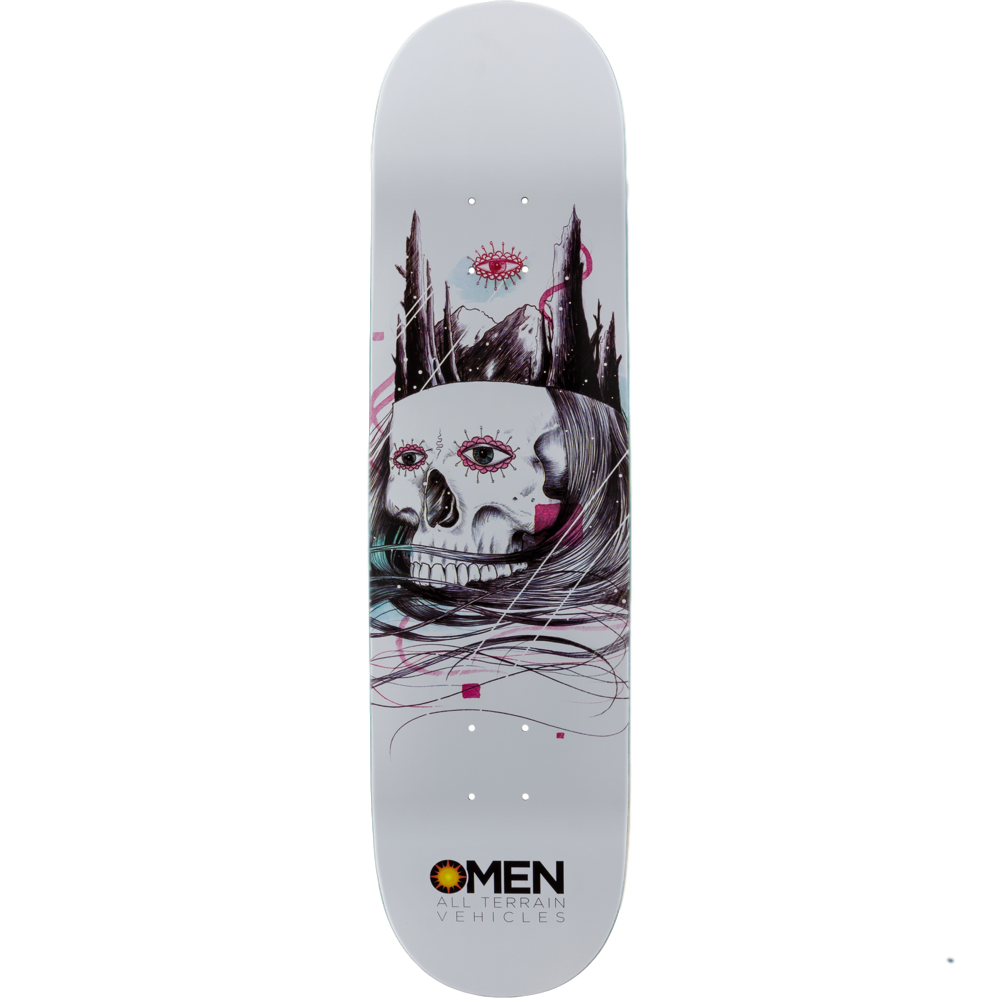 "Omen Deck ATV Series Skull Castle 8"" x 31.60"""