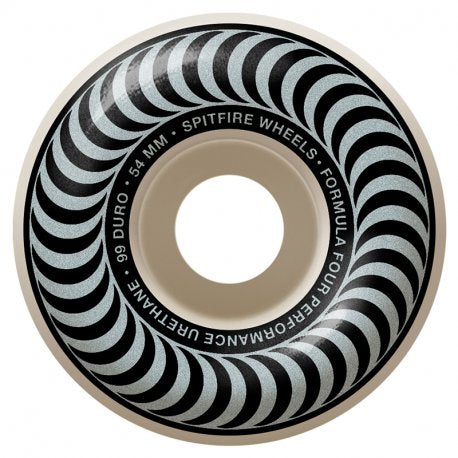 Spitfire Formula Four Classic Silver Wheels 99 Duro 54mm