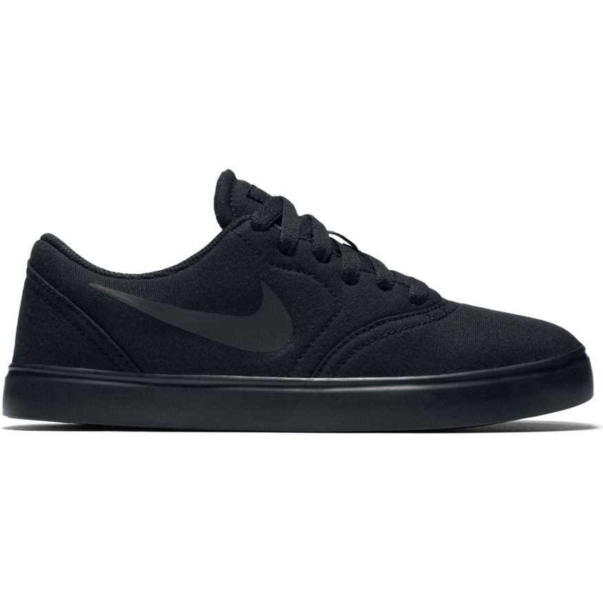 Nike SB Check Canvas (GS) Black/ Black/Anthracite