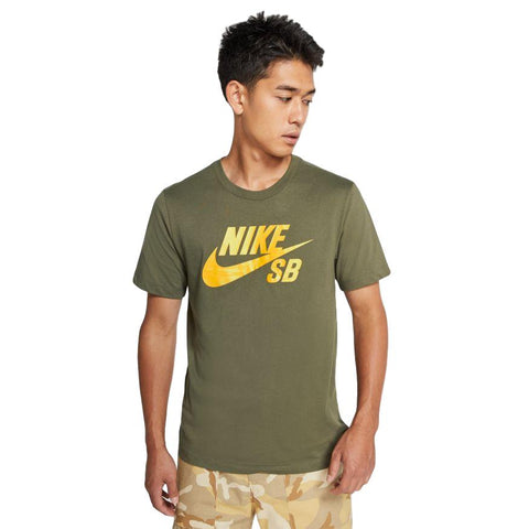 Nike SB Dri-Fit DFCT Logo Tee Green / Yellow