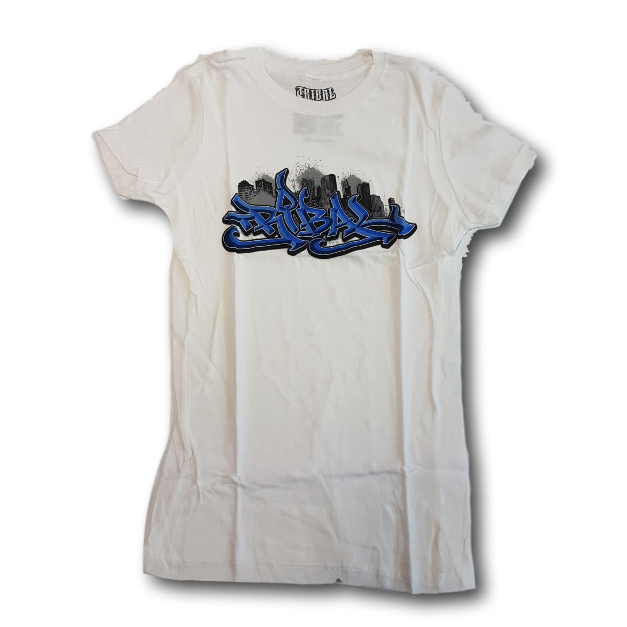 Tribal Classic City Womens Tee White