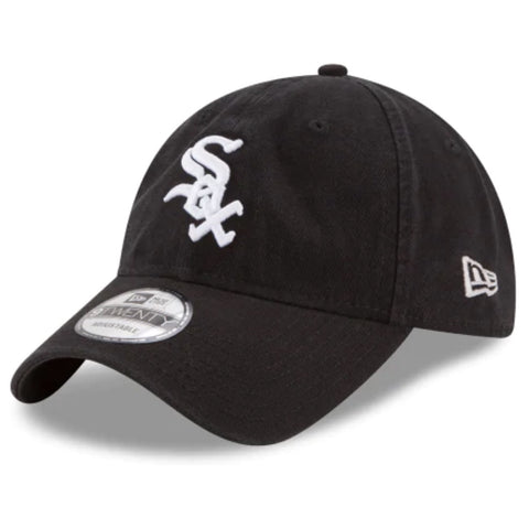 New Era Chicago White Sox 9Twenty Adjustable Strap Back Black