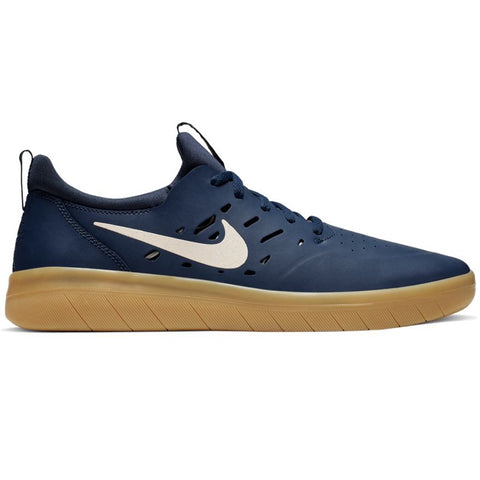 Nike SB Nyjah Free Midnight Navy/Summit White