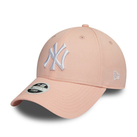 New Era 9Forty New York Yankees Adjustable Pink/White