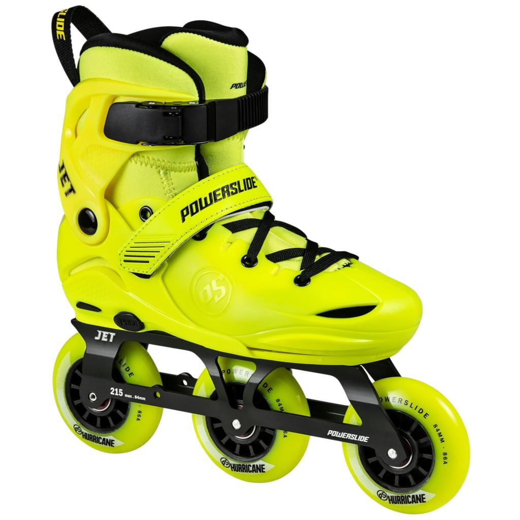 Powerslide Phuzion Jet Yellow Jr Inline Skates