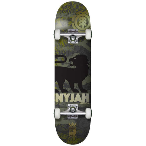 Element Nyjah Texture 8 Complete Skateboard